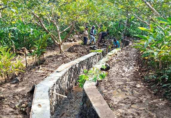 Progres Pelaksanaan Pekerjaan Sungai Sawar