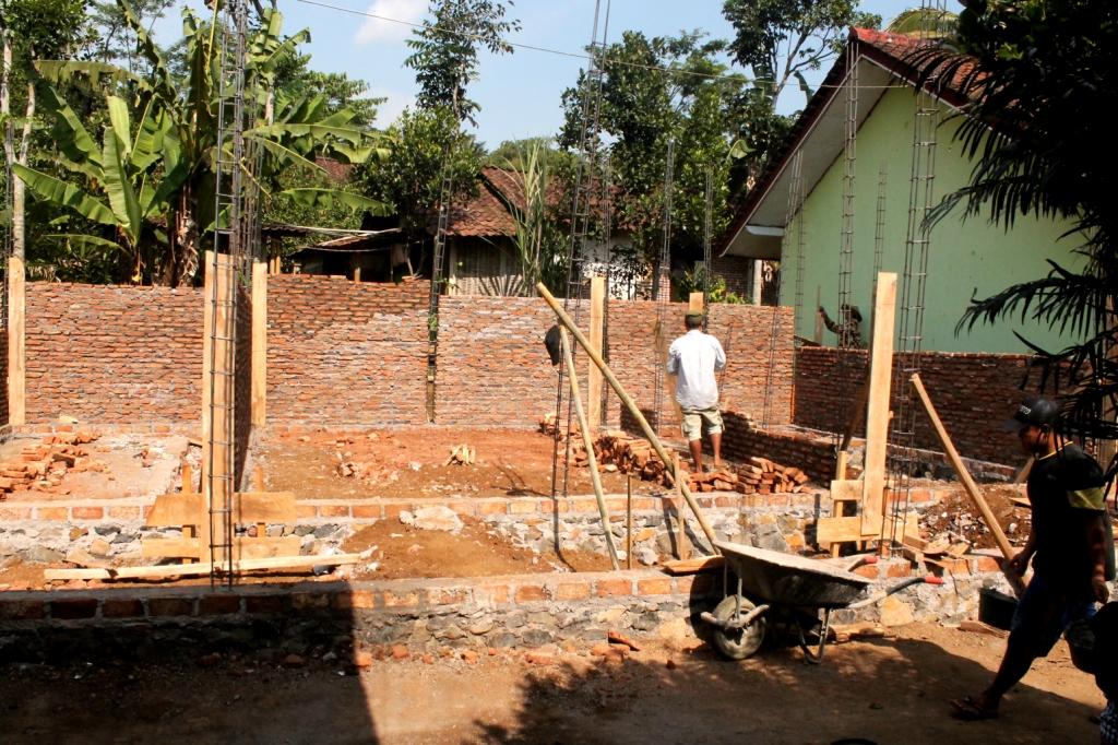 Pembangunan gedung PAUD (Tahun 2017)