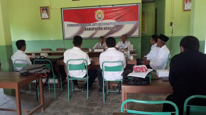 Pembinaan RKPDes Dari Dispermasdes Kabupaten Kendal